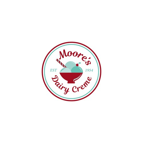 Logo for a family owned diner