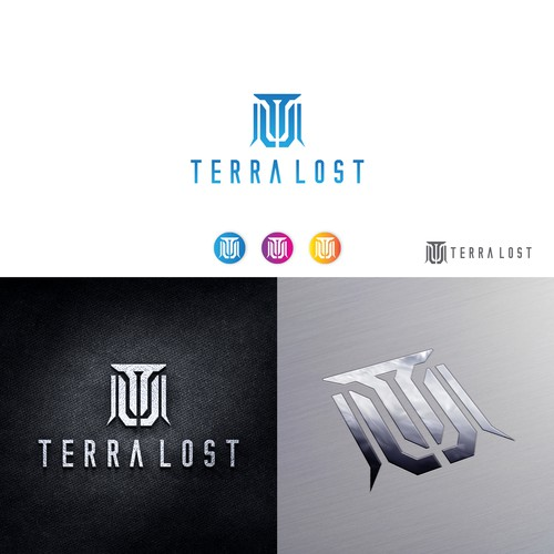 Sophisticated and Modern Logo For Terra Lost