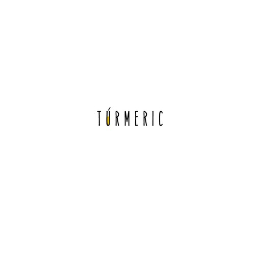 Healthy logo for Healthy drink Turmeric
