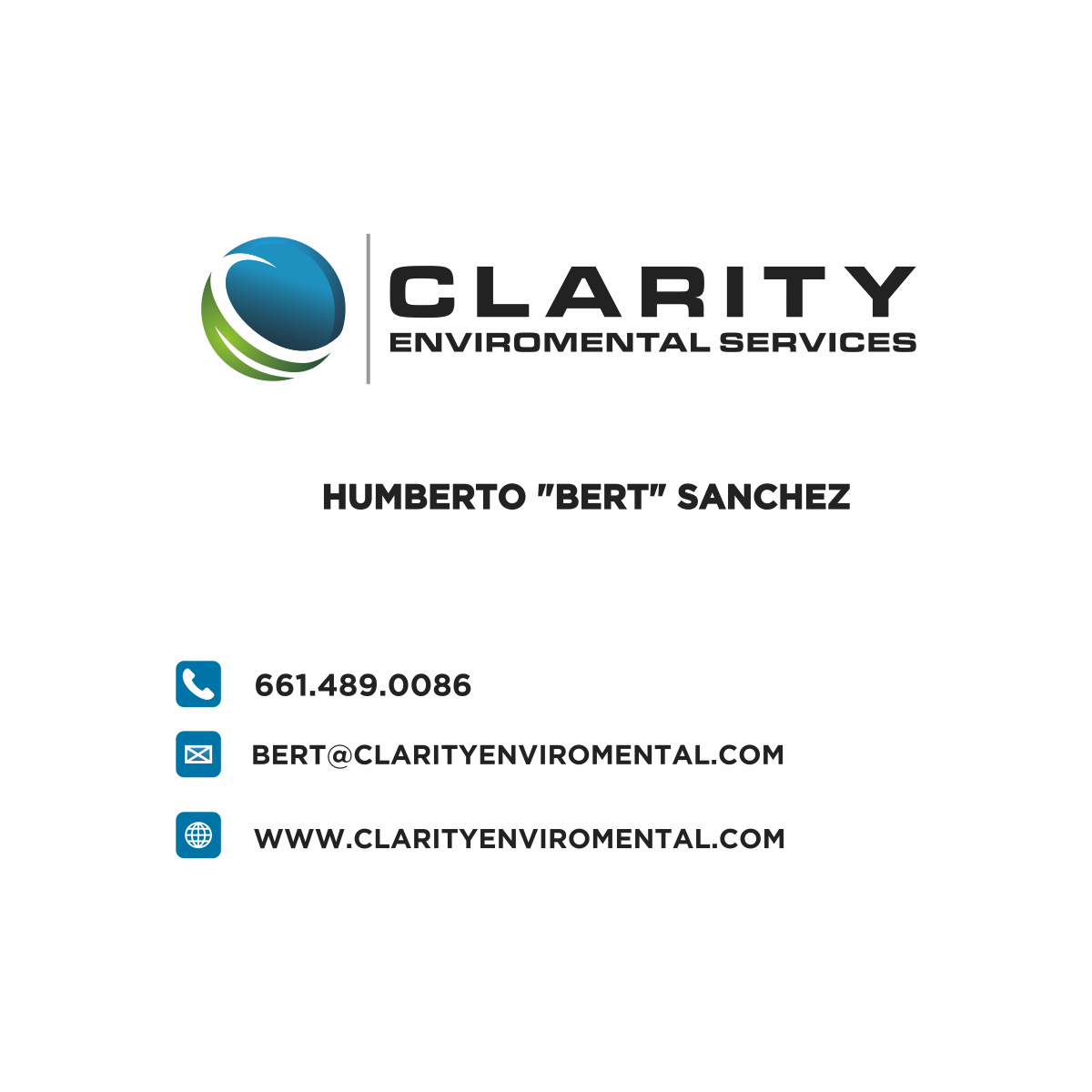 Logo Design work done for Clarity