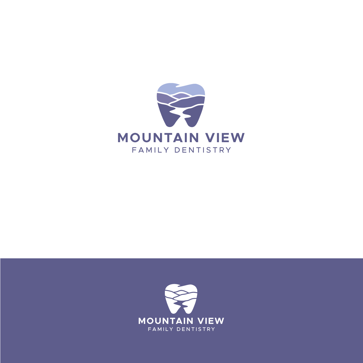 Design an awesome logo for a dental practice in the foothills of the Smokey Mountains