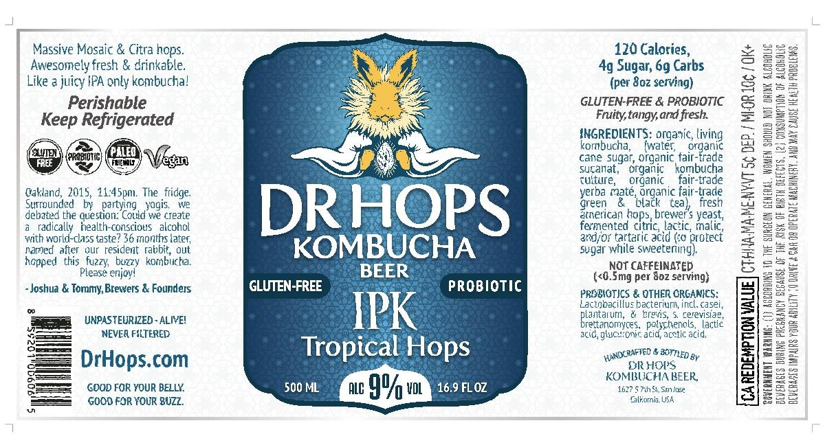 Dr Hops Label Update Spring 2019