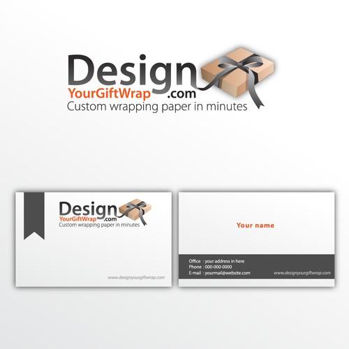 DesignYourGiftWrap.com needs a new logo