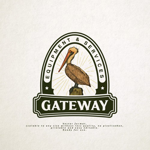 Vintage logo for -Gateway Equipment & Services