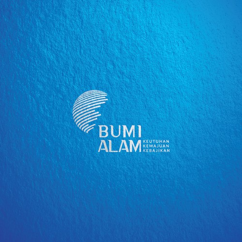 Logo design concept for Bumi Alam