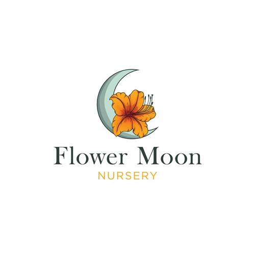 Color rich logo for plant nursery