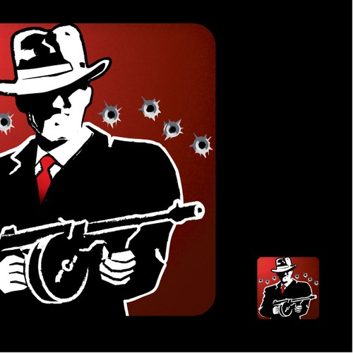 Create a Crime Syndicate button or icon for Fat Cook Software