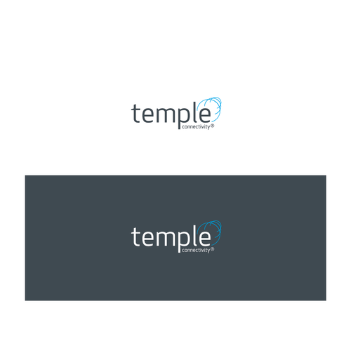 Bold Logo concept for Temple Connectivity