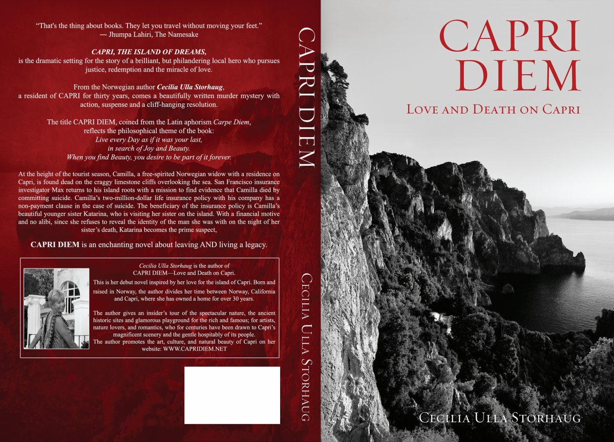CAPRI DIEM Cover Design