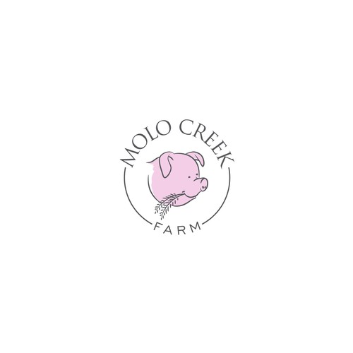 Simple logo for logo for a beautiful farm in Africa