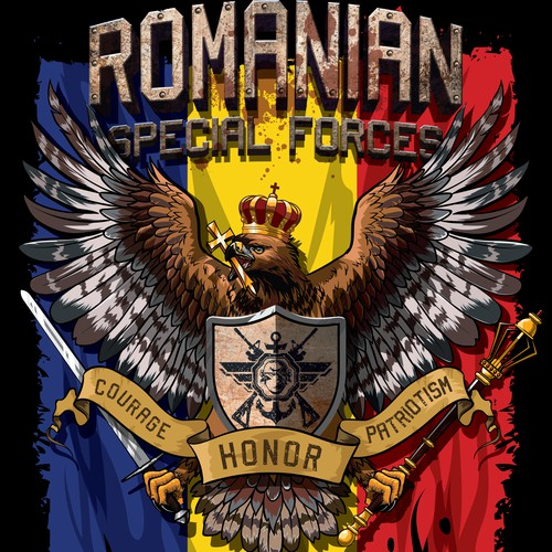 Romanian Special Forces T-shirt