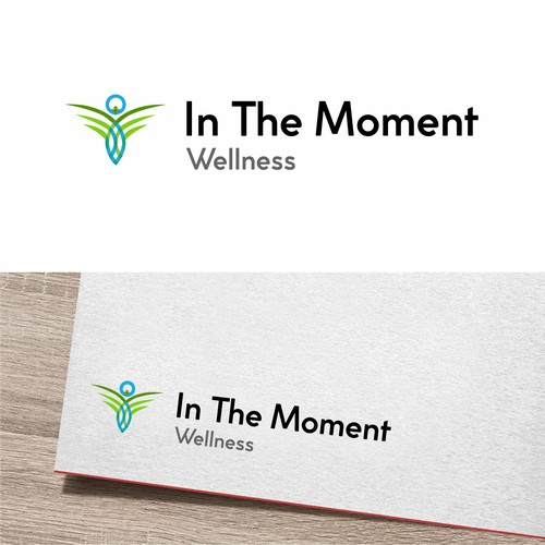 Logo concept for In The Moment Wellness