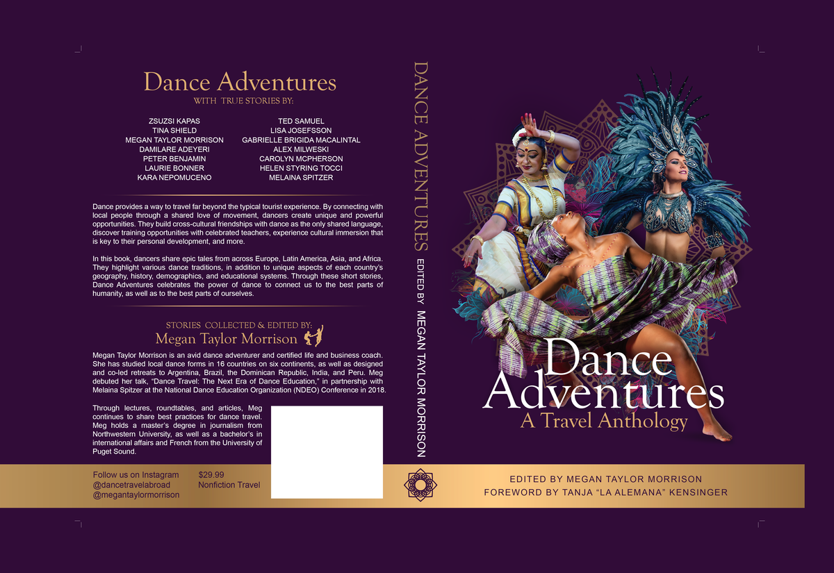 Dance Adventures : Eye-Catching Cover For Travel Book