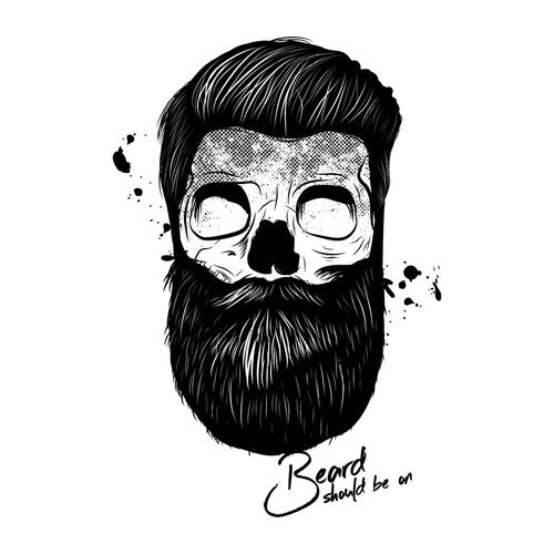 Beard tshirt design