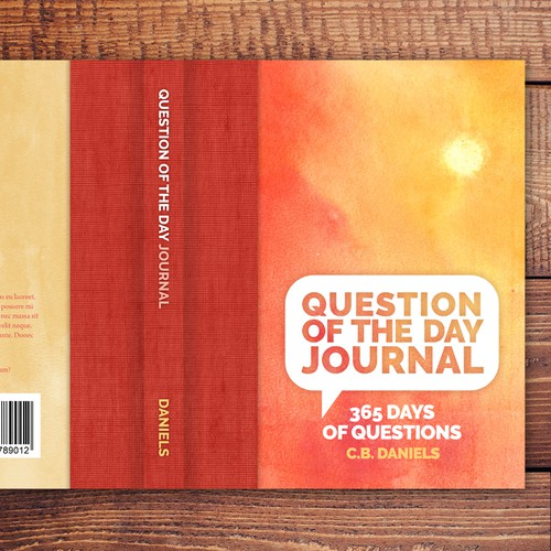 Warm, Inviting Journal Cover Design