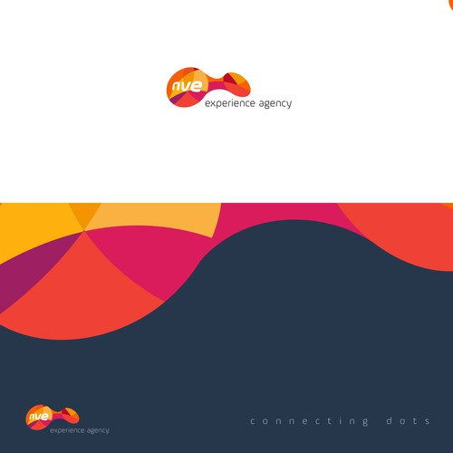 Colorful logo for an event managing agency