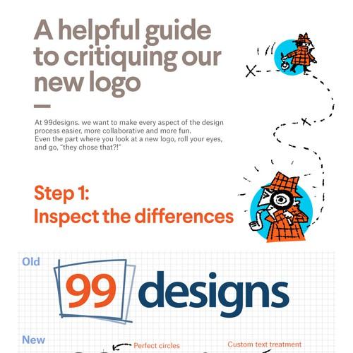 99D Logo Critique Infographic