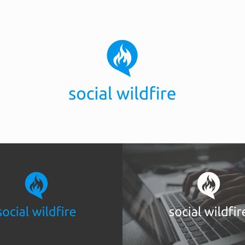 Winning design for social wildfire
