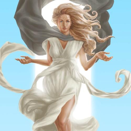 Illustration of Female Gooddess for The Way Maker