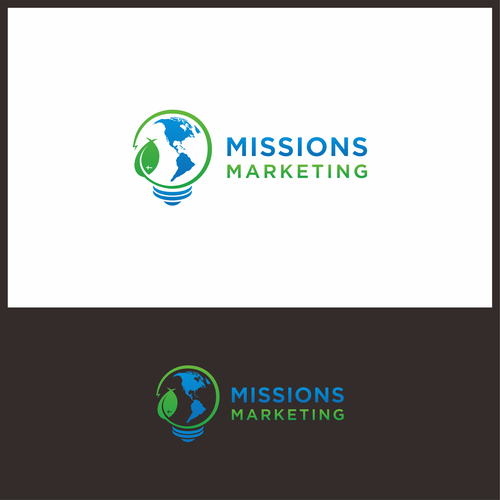 Logo concept for Missions Marketing