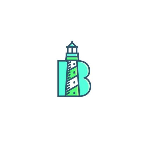 Beacon Discovery line art logo 1