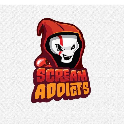 Mascot logo for YouTube Horror Show