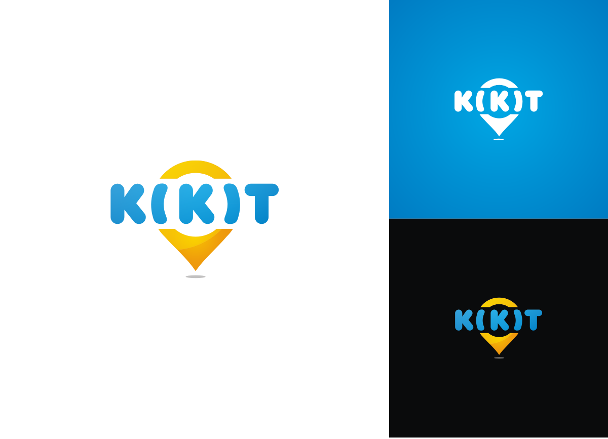 Be the face of a global social network platform - logo design for 'kikit'