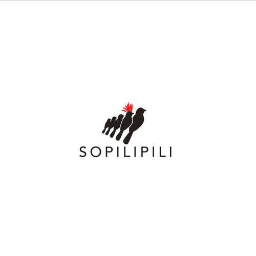 Logo design concept for sopilipili