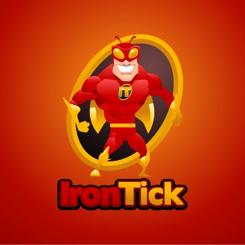IRONTICK needs a SUPER HERO logo, can you do it ?