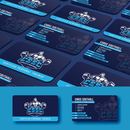 Business Card design for CSSC
