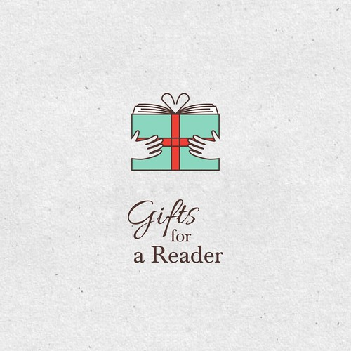 Memorable Logo for Gifts for a Readers