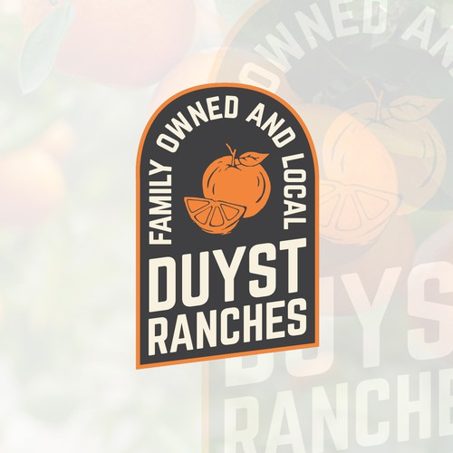 Duyst Ranches Logo Design