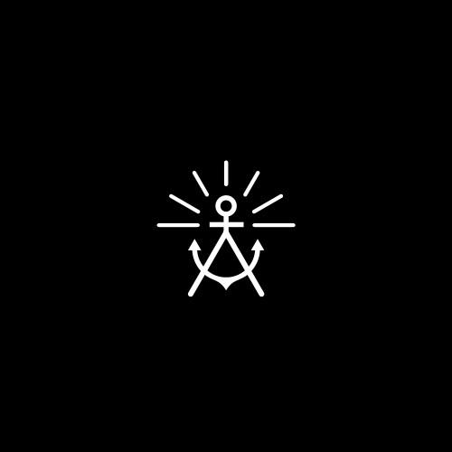 A + anchor + sun