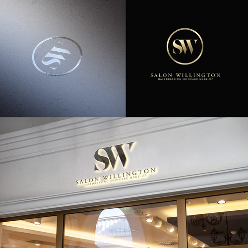 Classy, Unique, Powerful logo for a new Salon.