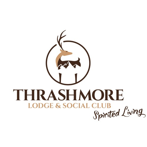 Logo design for Thrashmore Lodge & Social Club.
