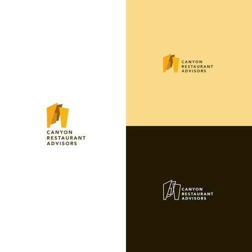 Canyon Restaurant Advisors Logo Design