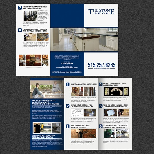 Help Us Change The Granite Countetop Industry With A brochure