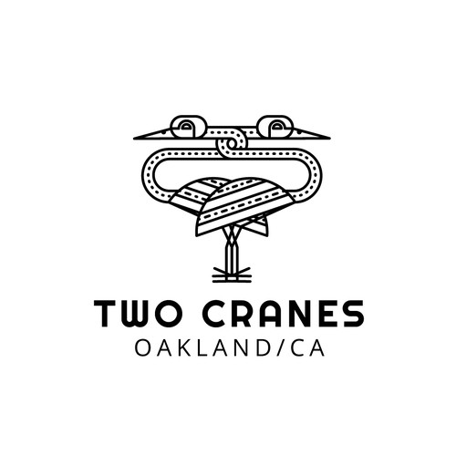 Two Cranes Restaurant logo