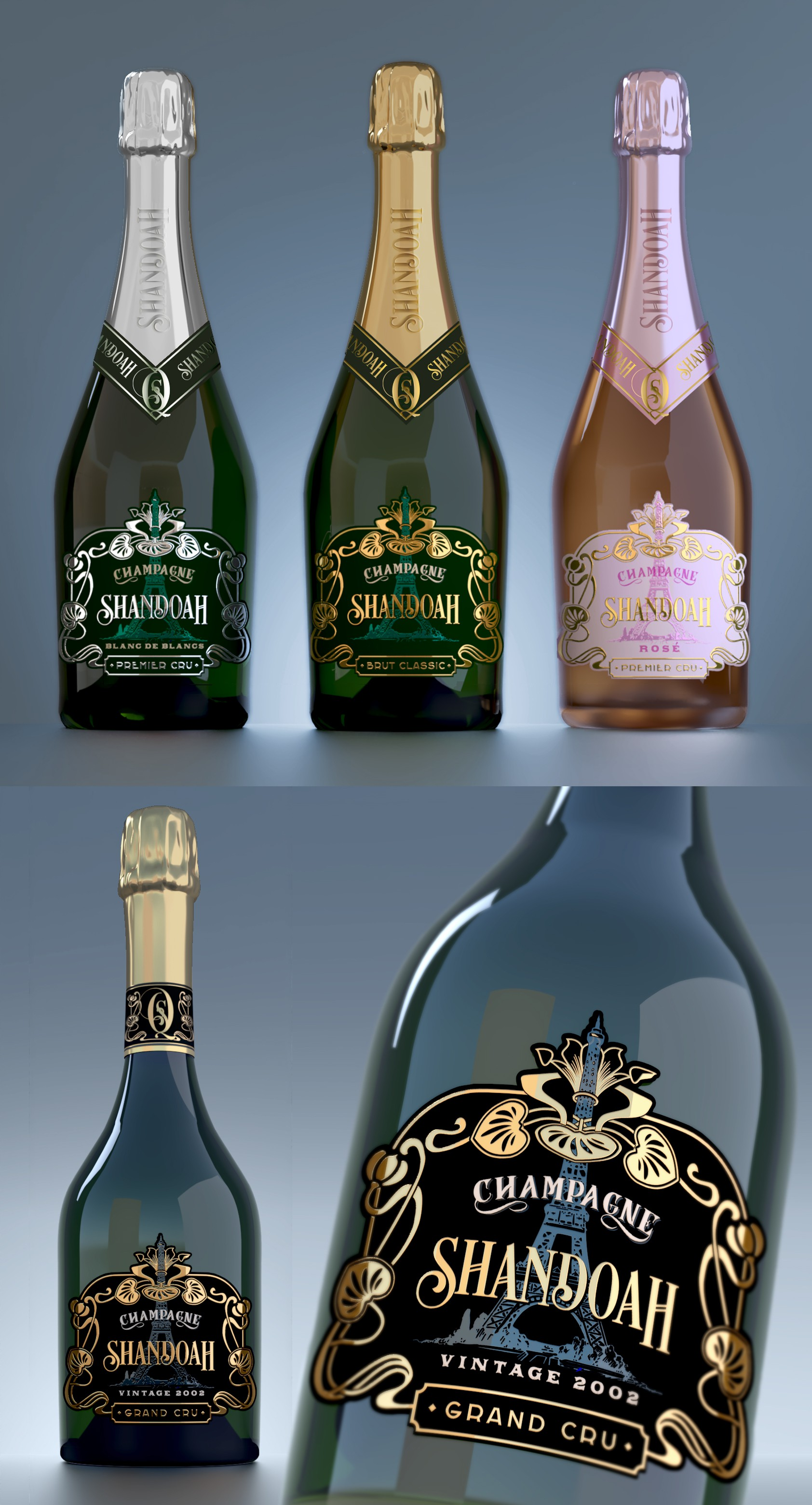 Let's make champagne more desirable than ever!!