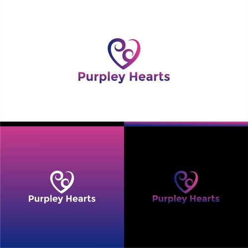 Win my Purpley Heart with your logo design