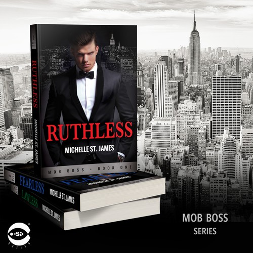 "Book covers for ""Mob Boss Series"" by Michelle St. James"