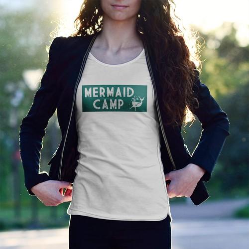 Mermaid camp t-shirt