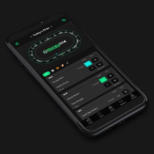 Moneyline App Design