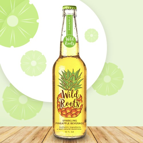 Wild Roots label design
