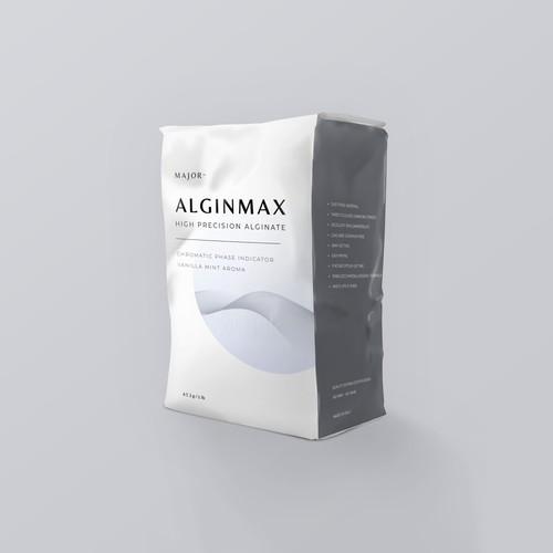 Bag for dental alginate for clinical use