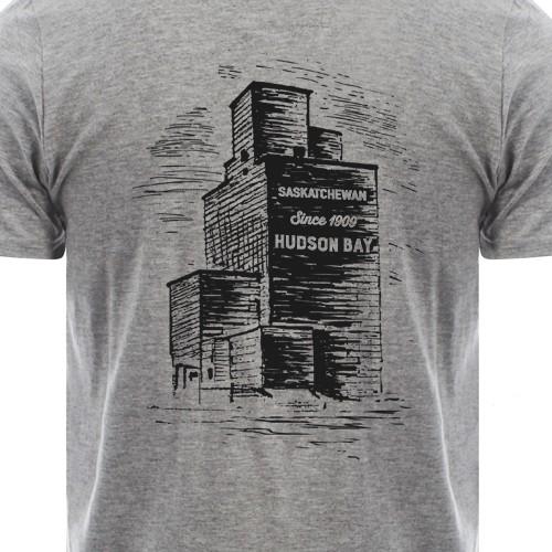 Vintage illustration for Canadian t-shirt company