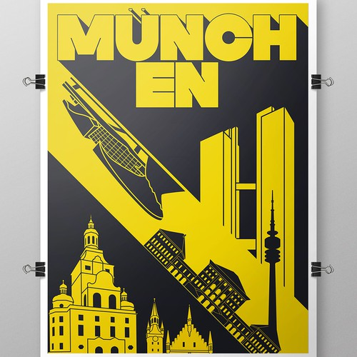 Poster for the city of Munich