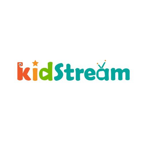 Logo concept for Kidstream