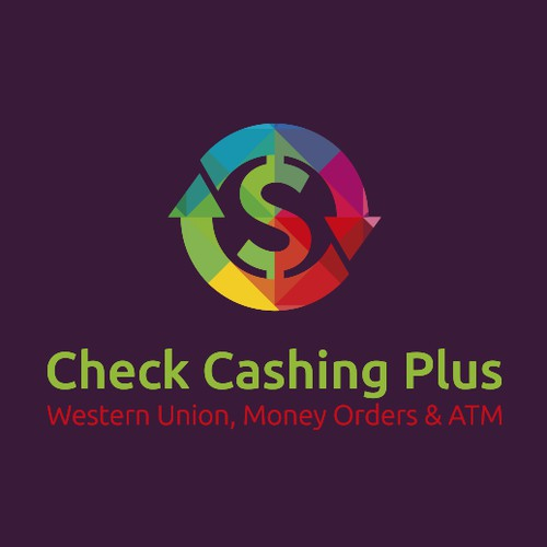 Logo concept for Check Cashing Plus