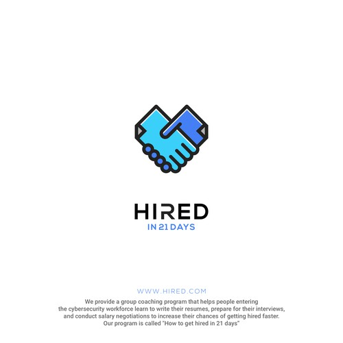 Hired Logo FOR SALE